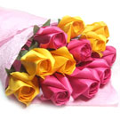 Paper roses gift