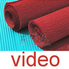 Video of Thick crepe paper