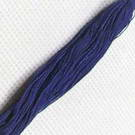 Cotton embroidery thread - blue