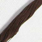 Cotton embroidery thread - brown