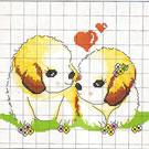 Cross stitch kit - Plain cloth
