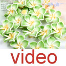 Video of  Fimo flower