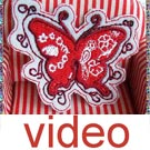 Videos of Applique Cloth label