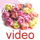 Videos of Eighteen rose bouquet
