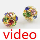 Videos of Rhinestone beads