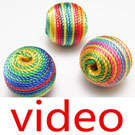 Videos of Wooden beads