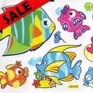 Window Stickers - Fish